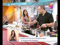 Culinária - Cataplana de Robalo - Praça da Alegria - YouTube Food Videos, Recipies, Youtube, Portuguese, Angler Fish, Joy, Recipes, Youtubers, Youtube Movies