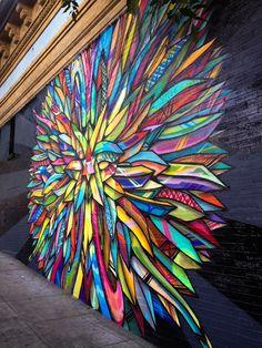 Mural in San Francisco's Haight-Ashbury neighborhood