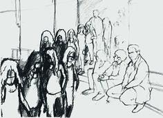 Im Pariser Palais de Tokyo perfektioniert Tino Sehgal seine lebenden Werke Tino Sehgal, Philippe Parreno, Greatest Hits, Oeuvre D'art, Les Oeuvres, Scene, Drawings, Illustration, Artist