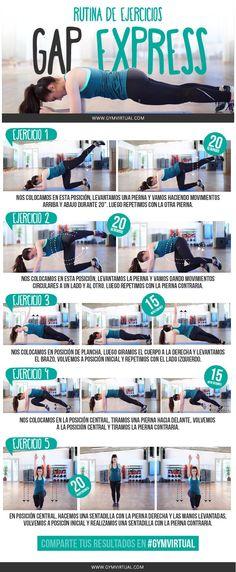 Os dejo esta rutina paso a paso de GAP, que ya sabéis que sirve para trabajar los glúteos, el abdomen y las piernas Combinamos varios ejercicios de glúteos, planchas isométricas para trabajar la parte del core, y sentadillas y lounges, para fortalecer las piernas. ¿Os animáis? Recordad que hay que combinar esta rutina con …