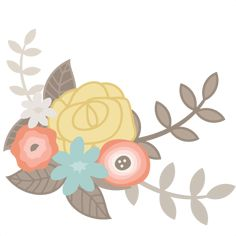 Flower SVG cutting file for scrapbooking free svg cuts free svgs flower svg files