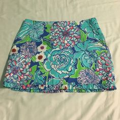 Lilly Pulitzer Skirt Size 00 Such a cute skirt! In excellent, like new condition! Lilly Pulitzer Skirts Mini