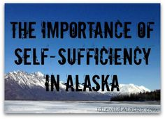 When barges fail to show up in Alaska, grocery store shelves become bare, giving yet another reason showing the importance of self-sufficiency in Alaska. Survival Life, Survival Prepping, Emergency Preparedness, Survival Hacks, Living In Alaska, Living Off The Land, Alaska Homestead, Moving To Alaska, Self Reliance