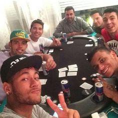 #neymar  #gilcebola  #amigos  #friends  #poker  #neymarjr  #love  #fcbarcelona  #barca  #barcelona  #game  #redbul  #awesome  #legendary