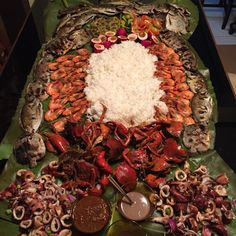 Boodle Fight! #Foodie #BoodleFight #SeafoodOverload