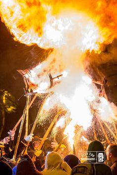 Correfoc fi de festa major 2015 Les Corts