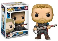 Thor Collectible Figures - Original Funko Pop Thor Ragnarok – One Geek  DETAILS & DIMENSIONS Product: Thor Figures Product Size: 10 cm Material: PVC Age: Over 6 years old Type: Collectible Vinyl Doll Theme: Movie & TV Manufacturer: Funko