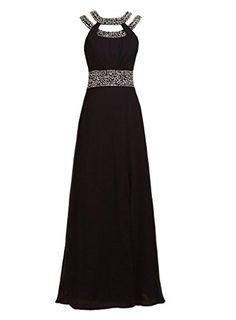 IDOBRIDAL Charming Beaded Bridesmaid Evening Party Prom Chiffon Gown Dress15-Black US Size 6 IDOBRIDAL http://www.amazon.com/dp/B00LO6JM58/ref=cm_sw_r_pi_dp_zolQub0424KK0