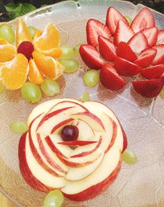 Fruity flowers snack to go with Tales Come Alive's newly released Flower party!