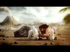 Raving Rabbids® Travel in Time - Prehistory Trailer [Europe] #animation #rabbid