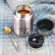 Food Flask and Spoon