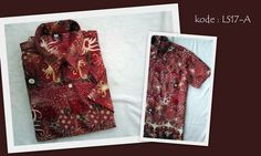 Kemeja Batik LS17A | IDR 80.000 | bahan : semi sutera/sutera | Size M, L, XL | Order : 081333303545