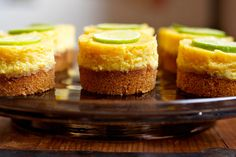 Whip up a batch of these Mini Key Lime Pies for your next dinner party.