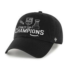 Los Angeles Kings 47 Brand 2014 NHL Stanley Cup Champions Adjustable Hat Cap