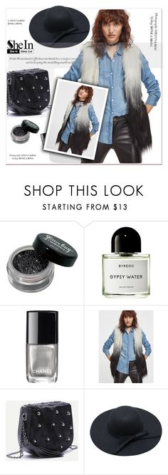 """""""SheIn"""" by janee-oss ❤ liked on Polyvore featuring Byredo, Chanel, Sheinside, polyvoreeditorial and shein"""