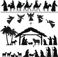 behold the lamb of god pinterest google images christmas rh pinterest com Free Nativity Clip Art free christmas manger scene clipart