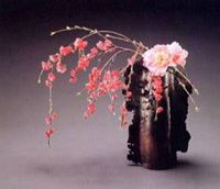 SOGETSU SCHOOL of IKEBANA believes that anyone can arrange IKEBANA anywhere, and with almost anything.