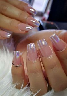 Chrome ombre
