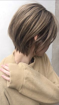 Face Shape Hairstyles, Cute Hairstyles For Short Hair, Short Hair Cuts, Short Hair Styles, Pixie Haircut Thin Hair, Beautiful Brown Hair, Tomboy Hairstyles, Shoulder Length Hair, Pink Hair