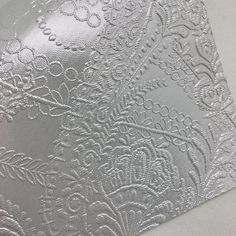 Metallic Pearl Embossed Textured Faux Leather Faux Leather Fabric, Emboss, White Cotton, Cotton Canvas, Craft Projects, Metallic, Tapestry, Pearls, Paper