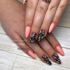 nails – Ala's Styles Discover love for fashion, style and beauty – nails Acrilico Classy Nails, Trendy Nails, Fabulous Nails, Gorgeous Nails, Nail Manicure, Toe Nails, Diy Ongles, Gel Nagel Design, Floral Nail Art