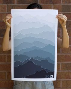2013 Mountain Calendar (Silver Dew) (Image Credit: Pam Lostracco)