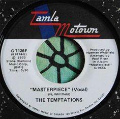 THE TEMPTATIONS.....MASTERPIECE (VOCAL) & SAME (INST)...1973...(M-)...CAN HEAR #PopCLASSICROCKFunkEasyListeningClassicRBMotown