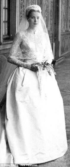 Inspiration: When marrying a Prince - you need to dress like a Princess...Grace!