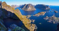 Reinebringen, Norway via @shanewheelphoto