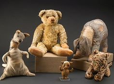 The original Pooh and friends.