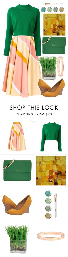 """198"" by erohina-d ❤ liked on Polyvore featuring Roksanda, DKNY, NOVICA, Rialto and Terre Mère"