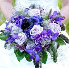 Purple Wedding Flowers [Slideshow]