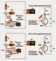 LED Torch light Circuit.