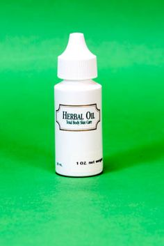Herbal Oil - This oil helps to lighten the appearance of brown spots and other skin discoloration progressively with botanical seed oils.