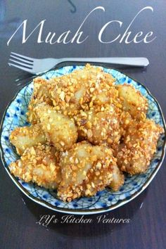 LY's Kitchen Ventures: Muah Chee (Microwaved Version)