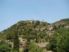The beautiful hilltop village of Deia