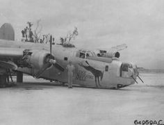 """Consolidated B-24J Liberator """"The Missouri Mule """" - s/n 44-40715, Philippines 10 avril 1945."""