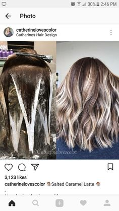 Blend Miscela Disney Look Rose Gold HaaLong hair can choose thisChloè Lawrence Onbre Hair, Brown Blonde Hair, Blonde Honey, Honey Hair, Short Blonde, Blonde Brunette, Hair Color Techniques, Hair Painting, Balayage Hair