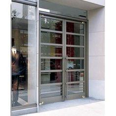 double exterior commercial glass doors   Ellison Bronze, Inc.   commercial entrance doors