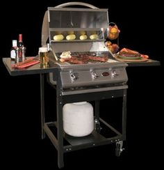 A La Cart BBQ Cart (Grill Head Sold Separately) For Any Cal Flame 3, 4 or 5 Burner Grill