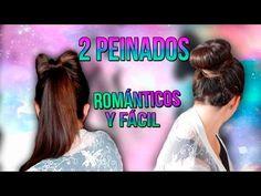 Peinados románticos y fáciles/ colab. Candy Chic - YouTube peinados faciles, peinados bonitos, tutorial peinados, facil y rapido, lazo con el cabello, moño con el cabello