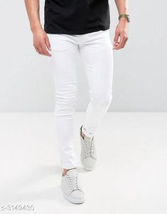 Checkout this latest Jeans Product Name: *Casual Cotton Lycra Men's Jean * Sizes:  28, 30, 32, 34 Easy Returns Available In Case Of Any Issue   Catalog Rating: ★4 (1151)  Catalog Name: New Casual Cotton Lycra Men's Jeans Vol 18 CatalogID_432284 C69-SC1211 Code: 915-3149430-4821