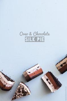 Oreo and Chocolate Silk Pie