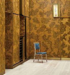 Gio Ponti and Piero Fornasetti in the Lucano House, circa Gio Ponti, George Nelson, Plywood Furniture, Design Furniture, Design Lounge, Design Loft, Table Diy, Table Ikea, Danish Modern