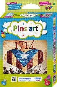 Kit Pins Art 1714 - DIY - Hand made with love
