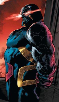 "vikaq: """"I am many things, Kal-El - but here, I am God. Arte Dc Comics, Dc Comics Superheroes, Dc Comics Characters, Darkseid Dc, Mundo Superman, Darkside, Comic Villains, Univers Dc, Comics Universe"