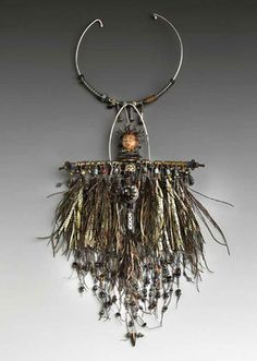"Susan Lenart Kazmer : Mixed Media Jewelry  ""African Talisman"""