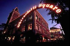 Ghirardelli Square | Chocolate Across America http://drivethenation.com/chocolate-across-america/