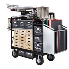 Buy your Backstage Super Duz-All Studio / Stage Cart  at Filmtools
