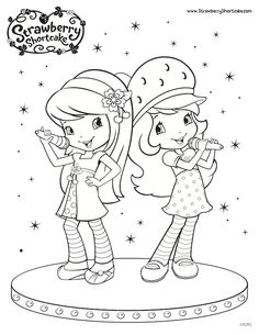 88 Best Strawberry Shortcke Images Coloring Pages Print Coloring